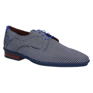 18441/22 Veterschoen navy printed suede