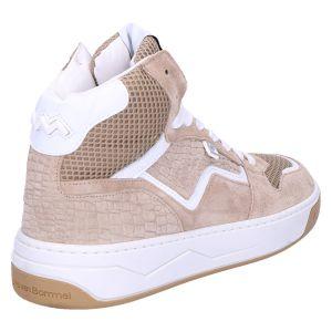 85329/02 Sneaker halfhoog beige suede