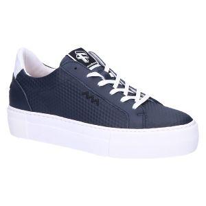 85333 Floris Sneaker blauw leer