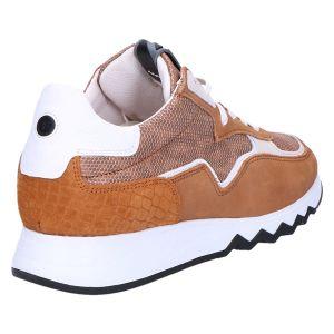 85334/04 Sneaker cognac metallic