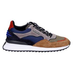 16478/01 Sneaker grey suede multicolour