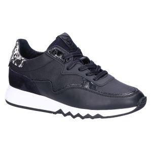 85334/12 Sneaker zwart leer