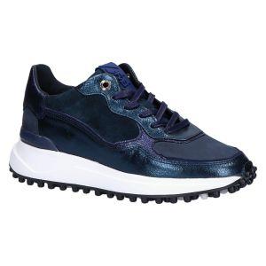 85343/14 Sneaker blauw craquele