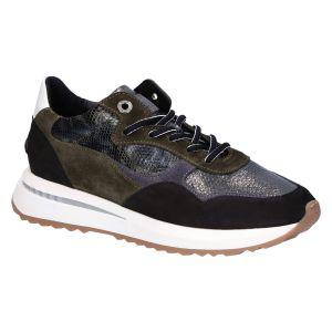 85351/05 KATJA Sneaker green suede