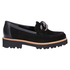 75.200 Loafer zwart suede