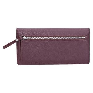 Wallet7 5041 Portemonnee rovere/bordo 19x9 cm