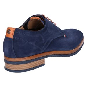 73506 Veterschoen blue lipari suede