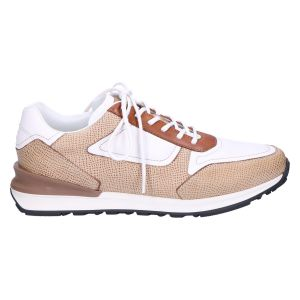 7258.11 Sneaker sabbia white cuoio