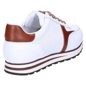 Boinno Sneaker white cognac calf