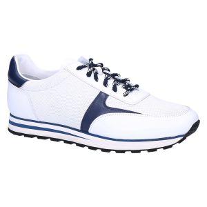 Boinno Sneaker white navy calf