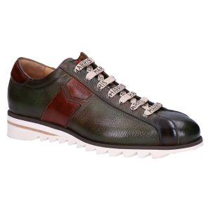 3892 Sneaker verde marrone multicolor