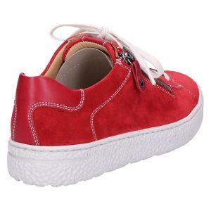 140162 Phil Sneaker rood suede