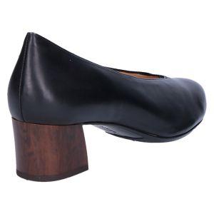 0-304930 Florenz Pump 4 cm zwart leer