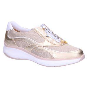 1-301173 Monaco Sneaker platin/milk leer/ mesh