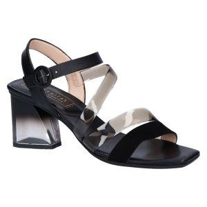 HV211308 Sandaal zwart 6 cm