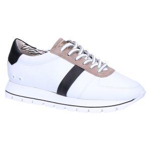 31-28290 Sneaker wit/zwart zebra