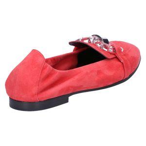 31-39550 Ballerina coral suede