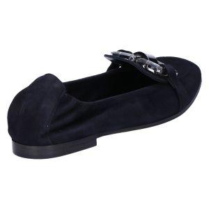 31-39550 Ballerina ocean/blauw suede