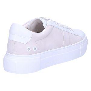 51-22490 Sneaker bianco/lightgrey calf/nubuk