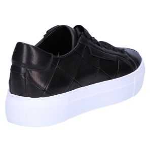 51-22630 Sneaker zwart vlecht nappa