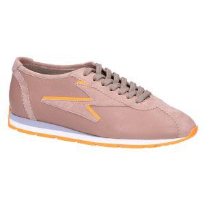 31-26200 Sneaker skin/groen neon oranje