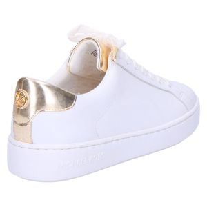 Irving Lace Up Sneaker white/palegold