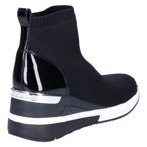 Skyler Bootie black elastic sleehak