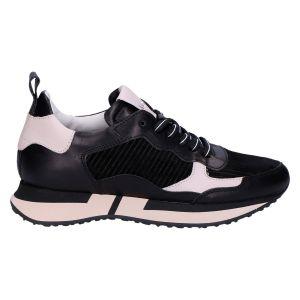 Adelaide Sneaker zwart/ecru