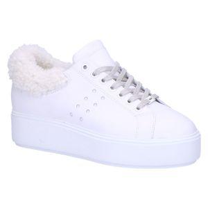 21046101 Elise Marlow fur white leather