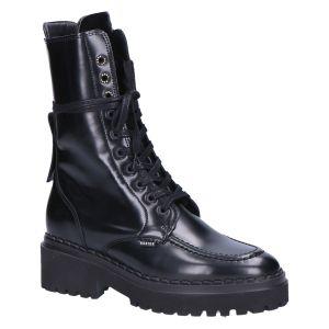 21040800 Fae Aubine black mirror leather
