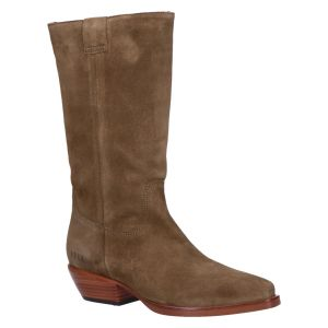 Holly Dana Slouchy Boot taupe suede