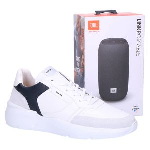 Roque Road JBL Sneaker limited edition white navy