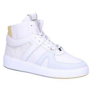 21041701 Jiro Dunk l white leather yellow