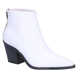 Romee GPS Enkellaars 7 cm white leather