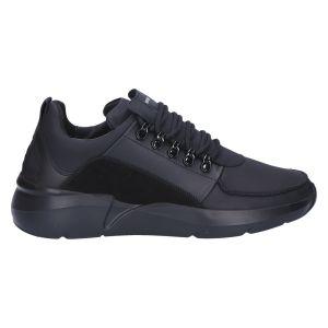 Roque Royal Sneaker black raven grey leather