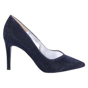 65993 Denice Pump 8.5 cm. notte blue shimmer