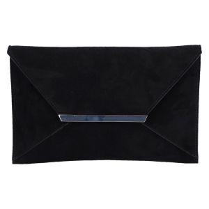 99568 Kamata Tas/Clutch zwart suede