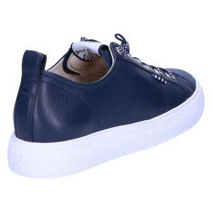 4930 Sneaker space blauw leer