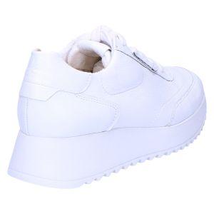 4946 Sneaker wit leer
