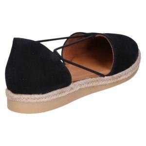 2856 Hoogfront elastiek zwart nubuk