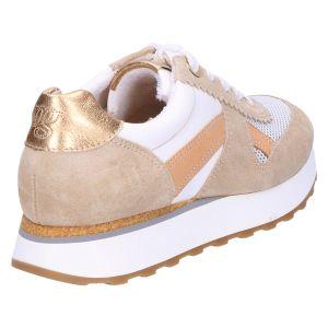 4918 Sneaker beige metallic kombi