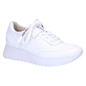 4946-008 Sneaker wit leer