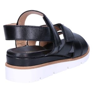 20646Pn Sandaal zwart klitteband