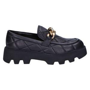 Manda Loafer zwart matelasse