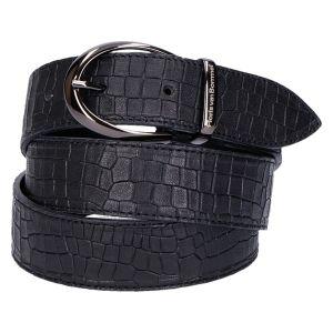 75820/00 Riem zwart kroko