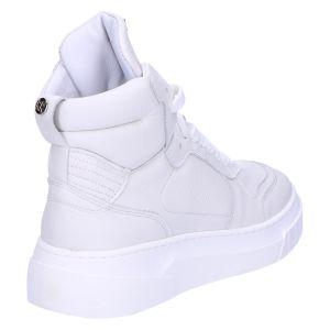 76398 High Top Sneaker white nappa