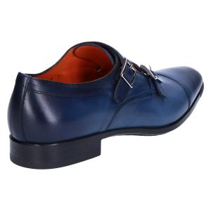 10686 Gespschoen blue nappa