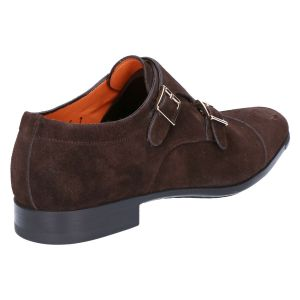 10686 Gespschoen darkbrown suede