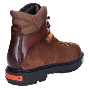 17269 Veterboot brown suede combi