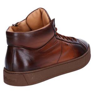 20851 Sneakerboot cognac goose